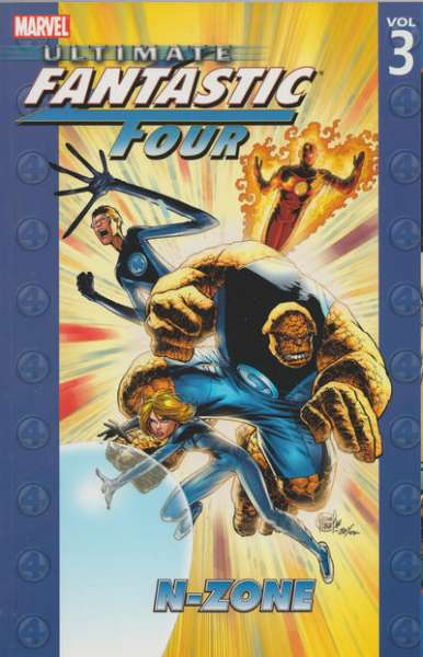 Ultimate Fantastic Four #3 comic books - cover scans photos Ultimate Fantastic Four #3 comic books - covers, picture gallery