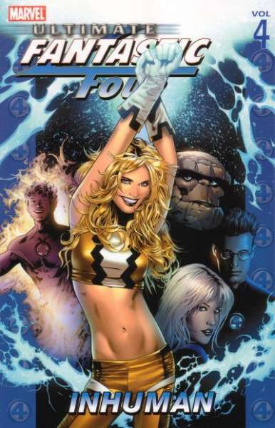 Ultimate Fantastic Four #4 comic books - cover scans photos Ultimate Fantastic Four #4 comic books - covers, picture gallery