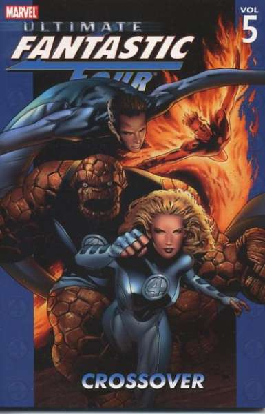 Ultimate Fantastic Four #5 comic books - cover scans photos Ultimate Fantastic Four #5 comic books - covers, picture gallery
