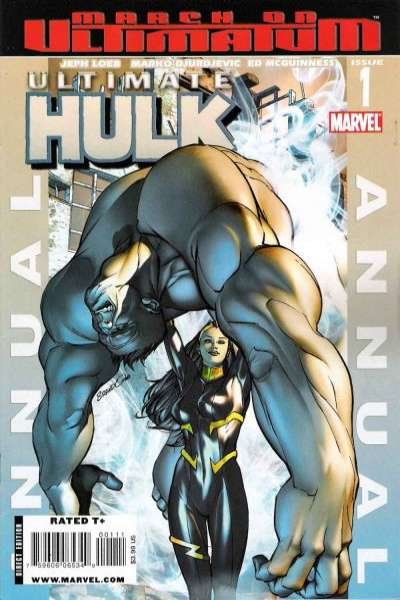 Ultimate Hulk Annual comic books