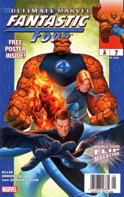 Ultimate Marvel Flip Magazine #7 comic books for sale