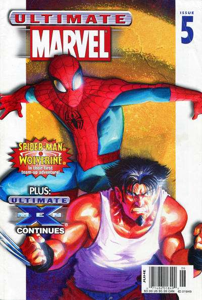 Ultimate Marvel Magazine #5 comic books for sale