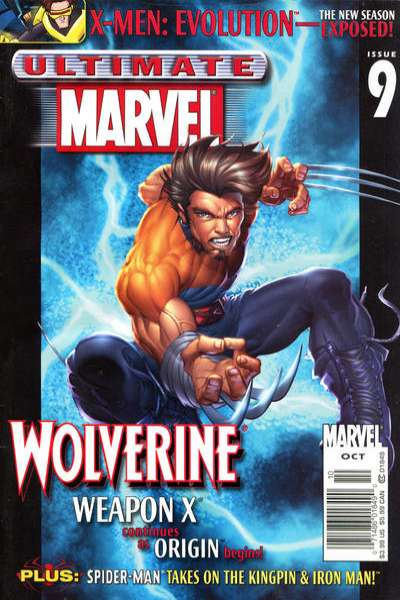 Ultimate Marvel Magazine #9 comic books for sale