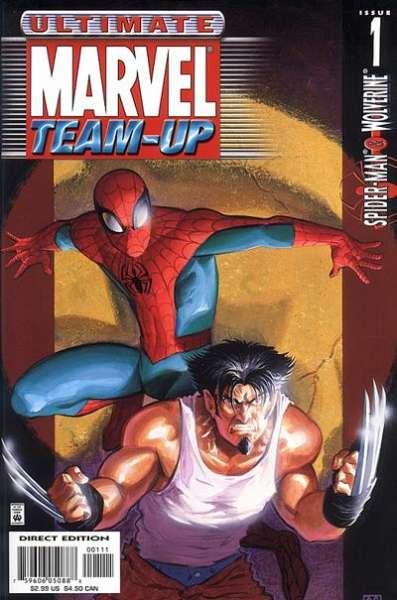 Ultimate Marvel Team-Up comic books
