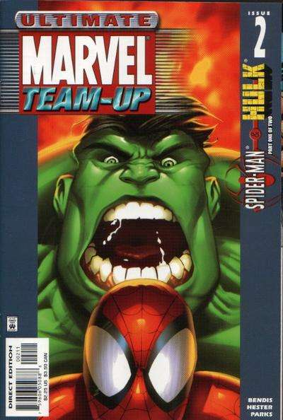 Ultimate Marvel Team-Up #2 comic books for sale