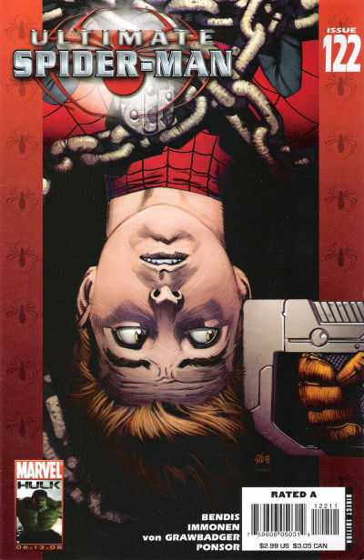 Ultimate Spider-Man #122 comic books - cover scans photos Ultimate Spider-Man #122 comic books - covers, picture gallery