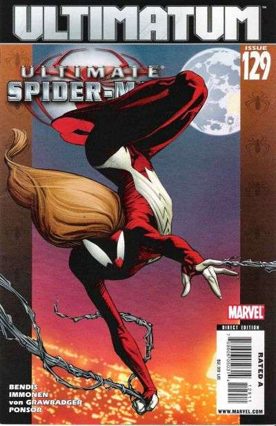 Ultimate Spider-Man #129 comic books for sale