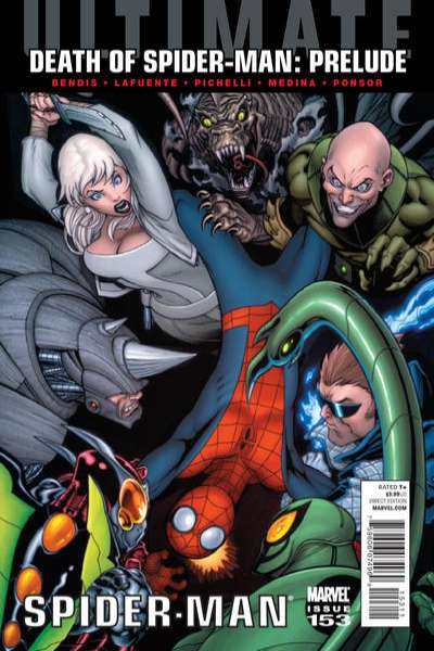 Ultimate Spider-Man #153 Comic Books - Covers, Scans, Photos  in Ultimate Spider-Man Comic Books - Covers, Scans, Gallery