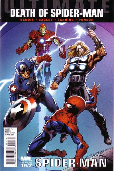 Ultimate Spider-Man #157 Comic Books - Covers, Scans, Photos  in Ultimate Spider-Man Comic Books - Covers, Scans, Gallery