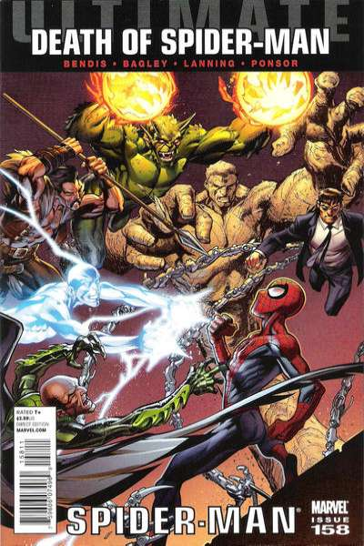 Ultimate Spider-Man #158 Comic Books - Covers, Scans, Photos  in Ultimate Spider-Man Comic Books - Covers, Scans, Gallery