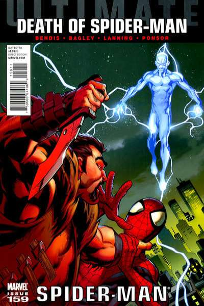 Ultimate Spider-Man #159 Comic Books - Covers, Scans, Photos  in Ultimate Spider-Man Comic Books - Covers, Scans, Gallery