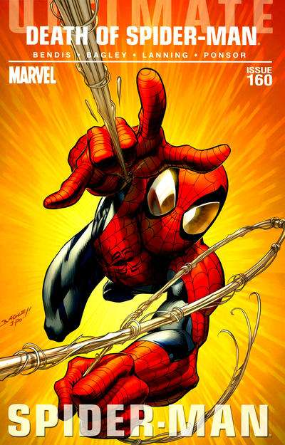 Ultimate Spider-Man #160 Comic Books - Covers, Scans, Photos  in Ultimate Spider-Man Comic Books - Covers, Scans, Gallery