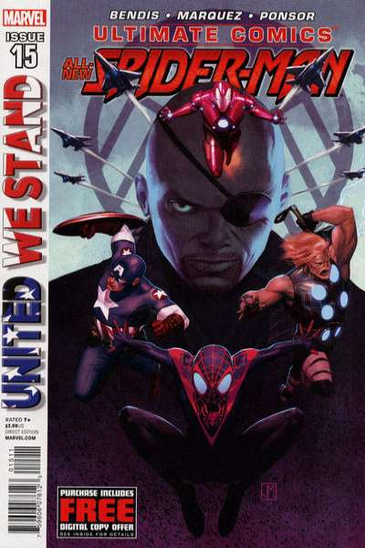 Ultimate Spider-Man #15 comic books - cover scans photos Ultimate Spider-Man #15 comic books - covers, picture gallery