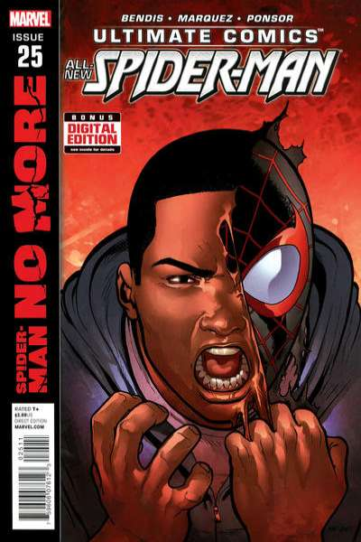Ultimate Spider-Man #25 comic books - cover scans photos Ultimate Spider-Man #25 comic books - covers, picture gallery