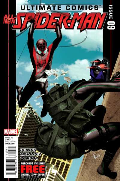 Ultimate Spider-Man #9 comic books - cover scans photos Ultimate Spider-Man #9 comic books - covers, picture gallery