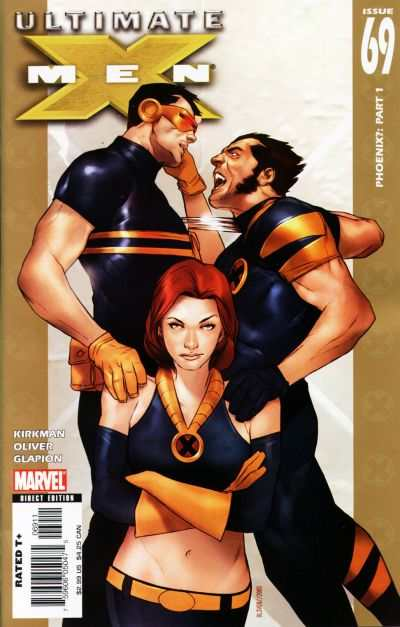 Ultimate X-Men #69 comic books - cover scans photos Ultimate X-Men #69 comic books - covers, picture gallery