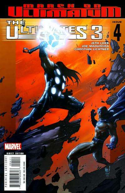 Ultimates 3 #4 comic books for sale