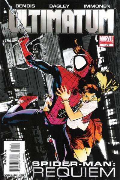 Ultimatum: Spider-Man Requiem #1 Comic Books - Covers, Scans, Photos  in Ultimatum: Spider-Man Requiem Comic Books - Covers, Scans, Gallery