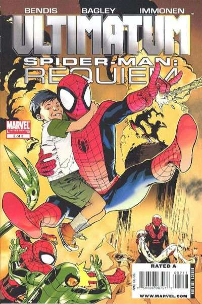 Ultimatum: Spider-Man Requiem #2 Comic Books - Covers, Scans, Photos  in Ultimatum: Spider-Man Requiem Comic Books - Covers, Scans, Gallery