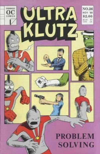 Ultra Klutz #26 comic books for sale