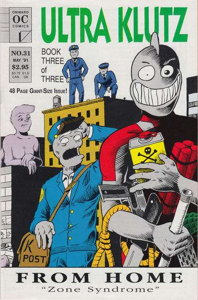 Ultra Klutz #31 comic books for sale