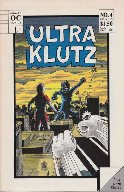 Ultra Klutz #4 comic books for sale