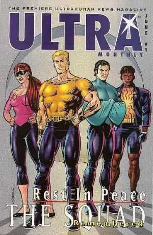 Ultra Monthly comic books