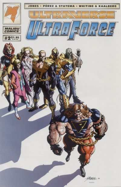 Ultraforce #2 comic books for sale