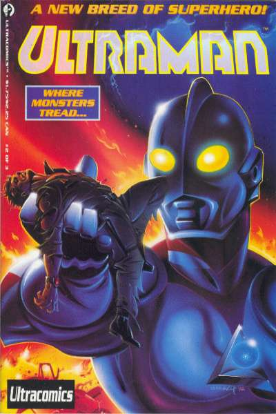 Ultraman #2 Comic Books - Covers, Scans, Photos  in Ultraman Comic Books - Covers, Scans, Gallery