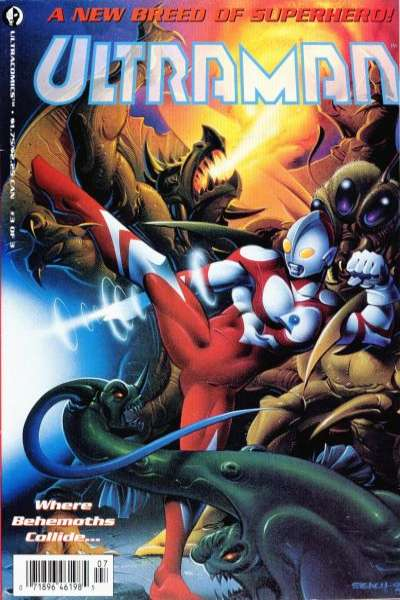 Ultraman #3 Comic Books - Covers, Scans, Photos  in Ultraman Comic Books - Covers, Scans, Gallery