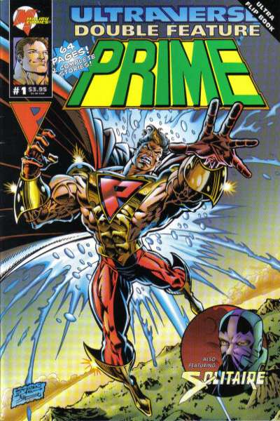 Ultraverse Double Feature #1 comic books - cover scans photos Ultraverse Double Feature #1 comic books - covers, picture gallery