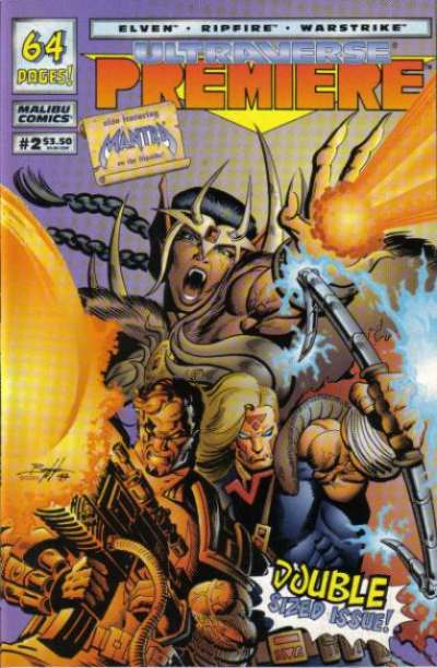 Ultraverse Premiere #2 Comic Books - Covers, Scans, Photos  in Ultraverse Premiere Comic Books - Covers, Scans, Gallery