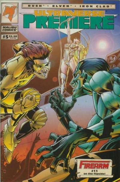 Ultraverse Premiere #5 Comic Books - Covers, Scans, Photos  in Ultraverse Premiere Comic Books - Covers, Scans, Gallery
