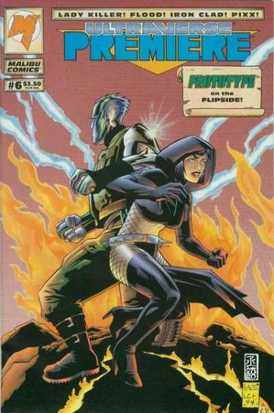 Ultraverse Premiere #6 Comic Books - Covers, Scans, Photos  in Ultraverse Premiere Comic Books - Covers, Scans, Gallery