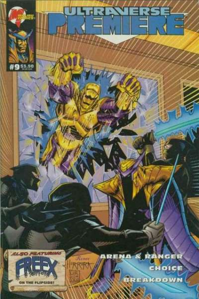 Ultraverse Premiere #9 Comic Books - Covers, Scans, Photos  in Ultraverse Premiere Comic Books - Covers, Scans, Gallery