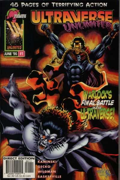 Ultraverse Unlimited #1 comic books for sale
