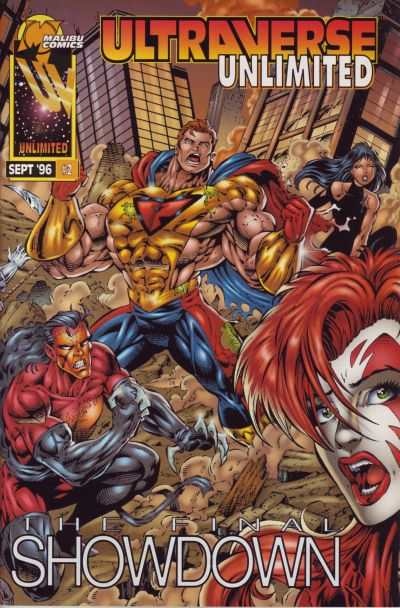 Ultraverse Unlimited #2 comic books - cover scans photos Ultraverse Unlimited #2 comic books - covers, picture gallery