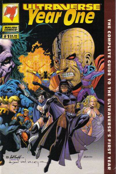 Ultraverse Year One #1 comic books for sale