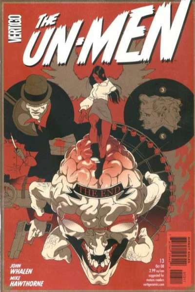 Un-Men #13 comic books - cover scans photos Un-Men #13 comic books - covers, picture gallery