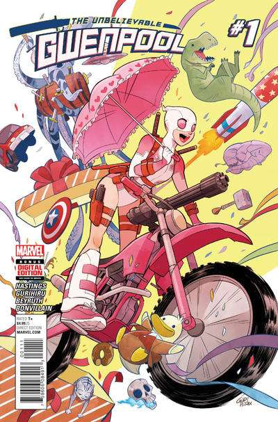 Unbelievable Gwenpool Comic Books. Unbelievable Gwenpool Comics.