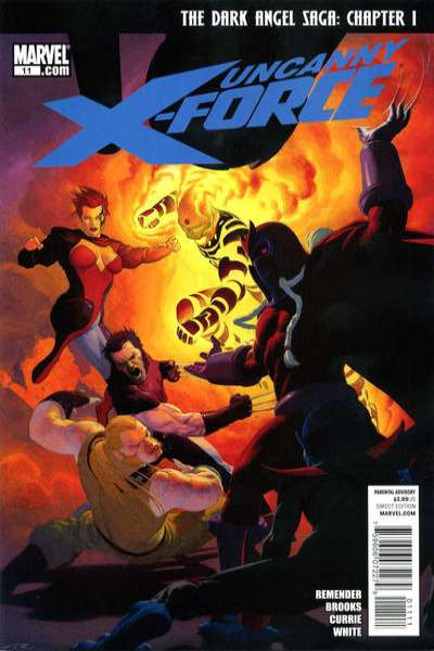 Uncanny X-Force #11 Comic Books - Covers, Scans, Photos  in Uncanny X-Force Comic Books - Covers, Scans, Gallery