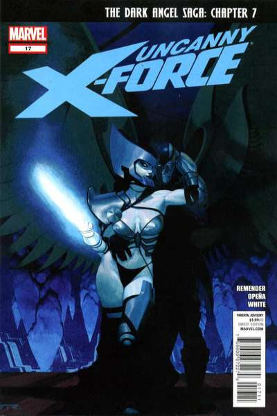 Uncanny X-Force #17 Comic Books - Covers, Scans, Photos  in Uncanny X-Force Comic Books - Covers, Scans, Gallery