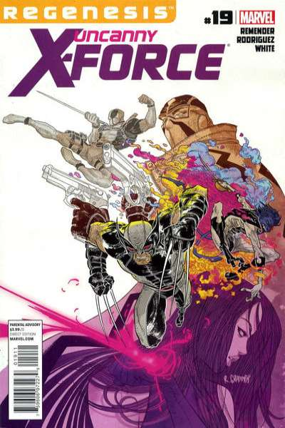 Uncanny X-Force #19 comic books - cover scans photos Uncanny X-Force #19 comic books - covers, picture gallery