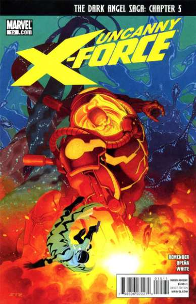Uncanny X-Force #15 Comic Books - Covers, Scans, Photos  in Uncanny X-Force Comic Books - Covers, Scans, Gallery