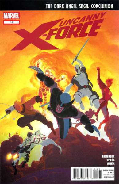 Uncanny X-Force #18 comic books for sale