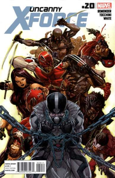 Uncanny X-Force #20 Comic Books - Covers, Scans, Photos  in Uncanny X-Force Comic Books - Covers, Scans, Gallery