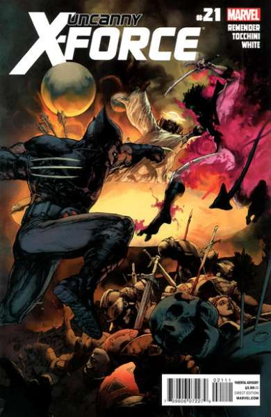 Uncanny X-Force #21 comic books - cover scans photos Uncanny X-Force #21 comic books - covers, picture gallery
