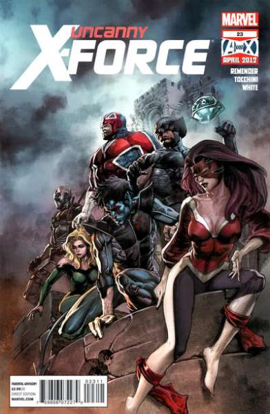 Uncanny X-Force #23 Comic Books - Covers, Scans, Photos  in Uncanny X-Force Comic Books - Covers, Scans, Gallery