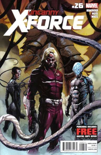 Uncanny X-Force #26 comic books for sale