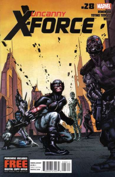 Uncanny X-Force #28 comic books - cover scans photos Uncanny X-Force #28 comic books - covers, picture gallery